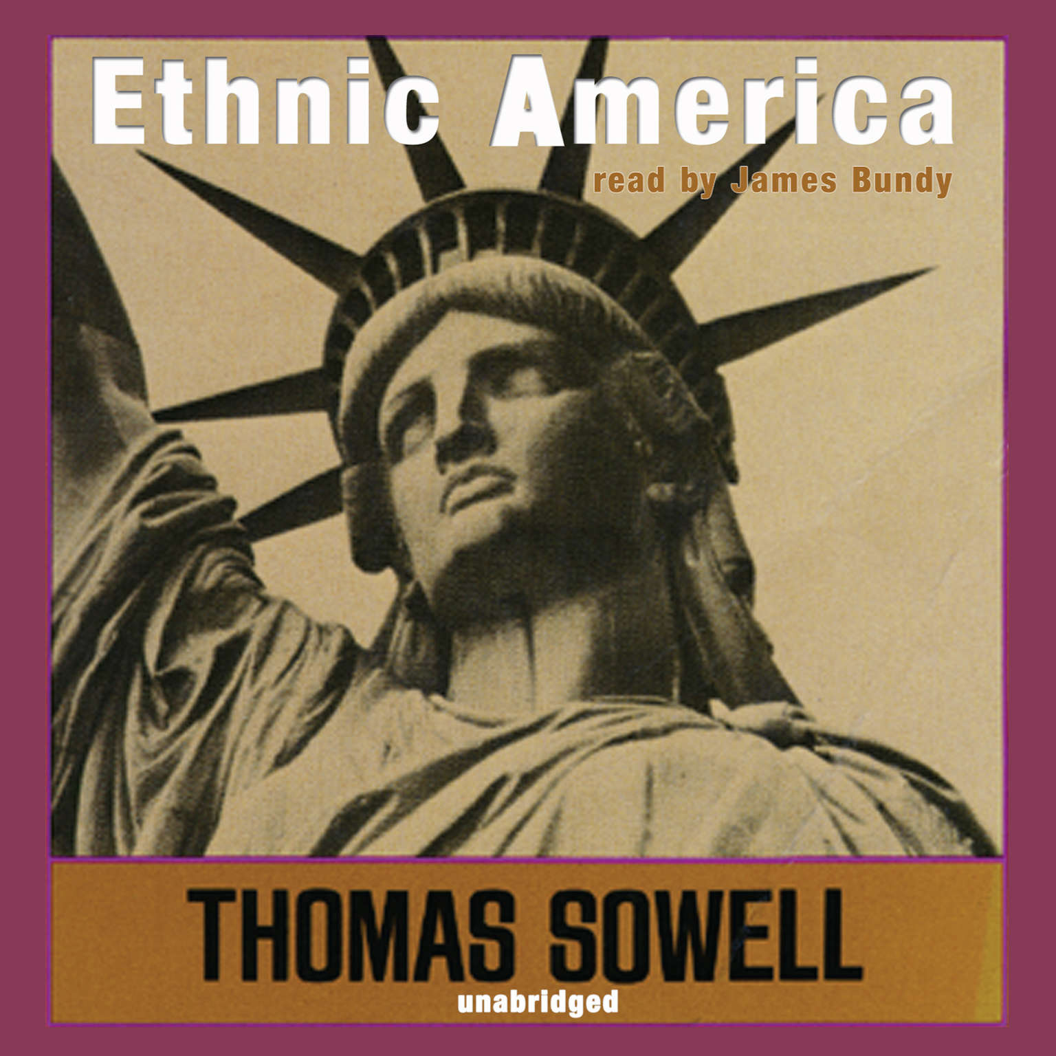 Printable Ethnic America: A History Audiobook Cover Art
