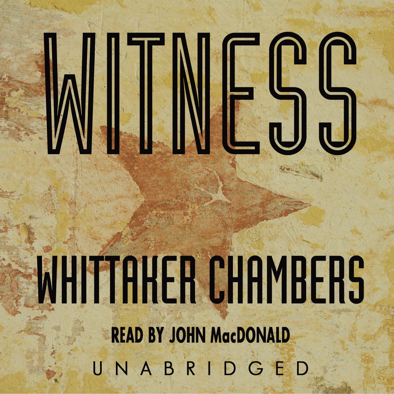 Printable Witness Audiobook Cover Art