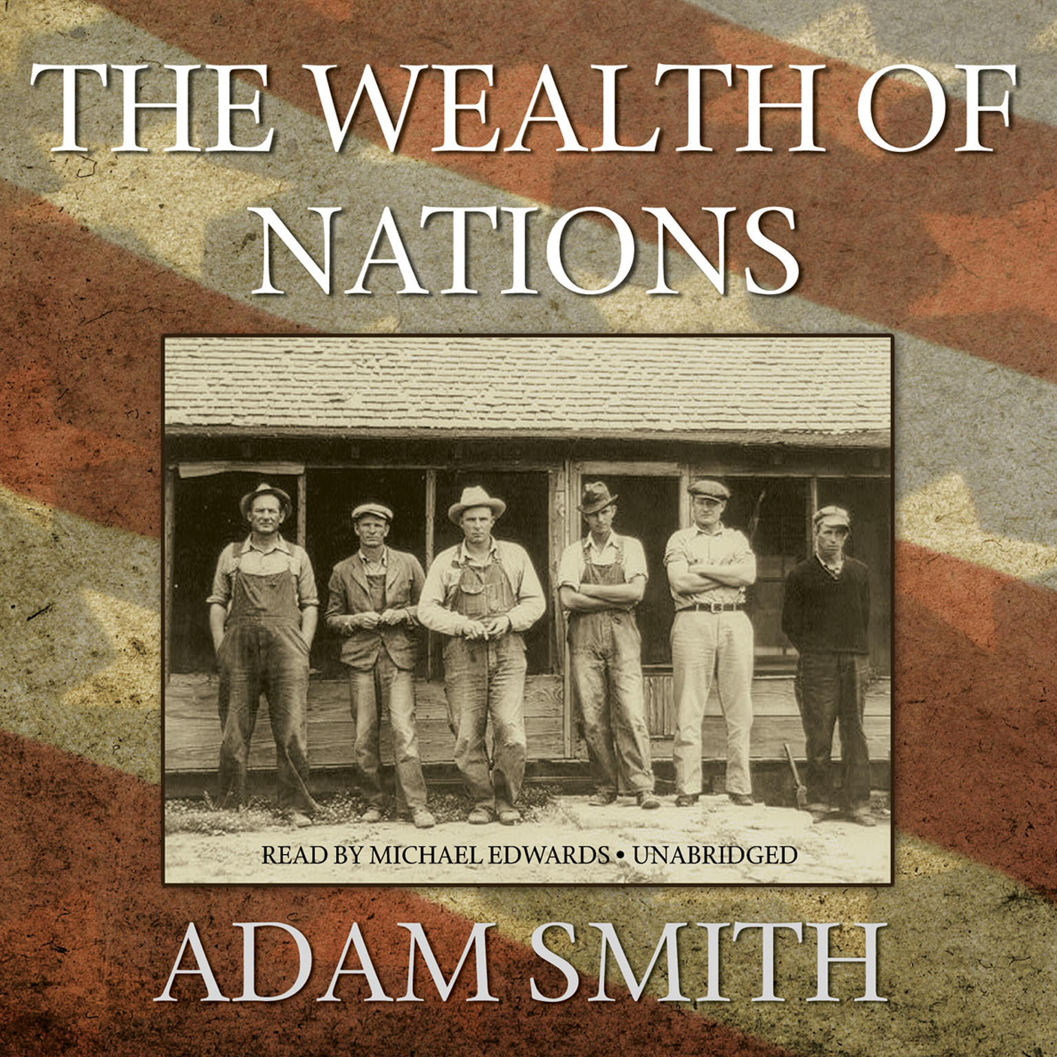 Printable The Wealth of Nations Audiobook Cover Art