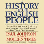 A History of the English People Audiobook, by Paul Johnson