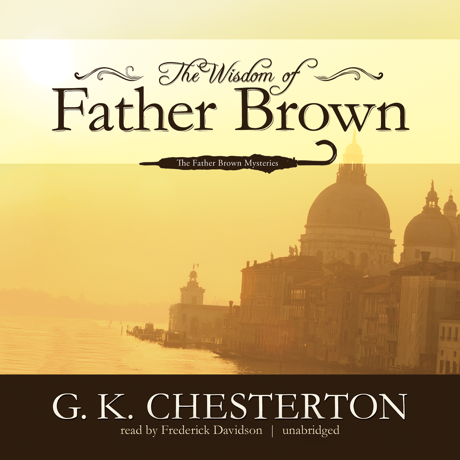 Printable The Wisdom of Father Brown Audiobook Cover Art