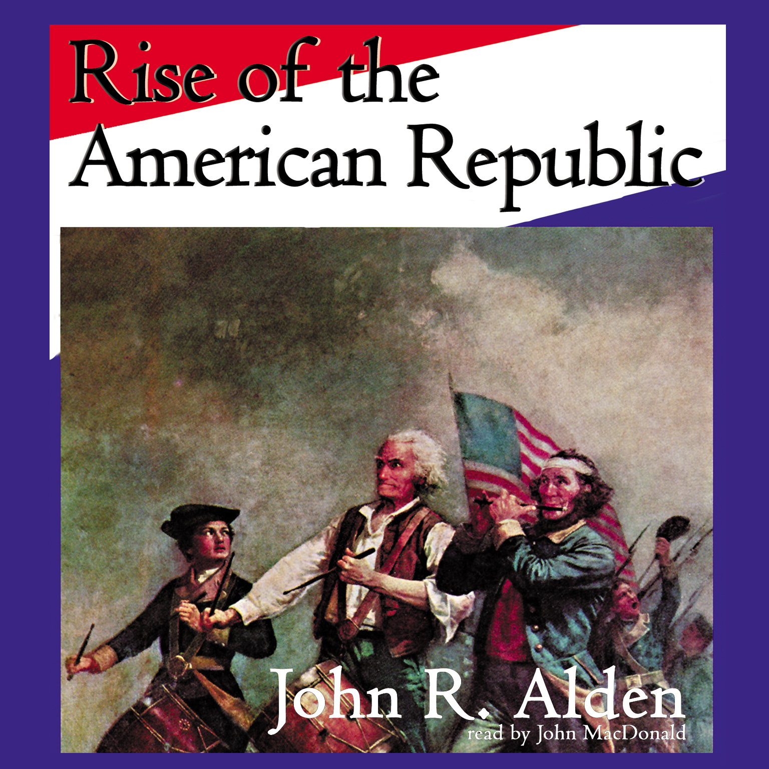 Printable Rise of the American Republic Audiobook Cover Art