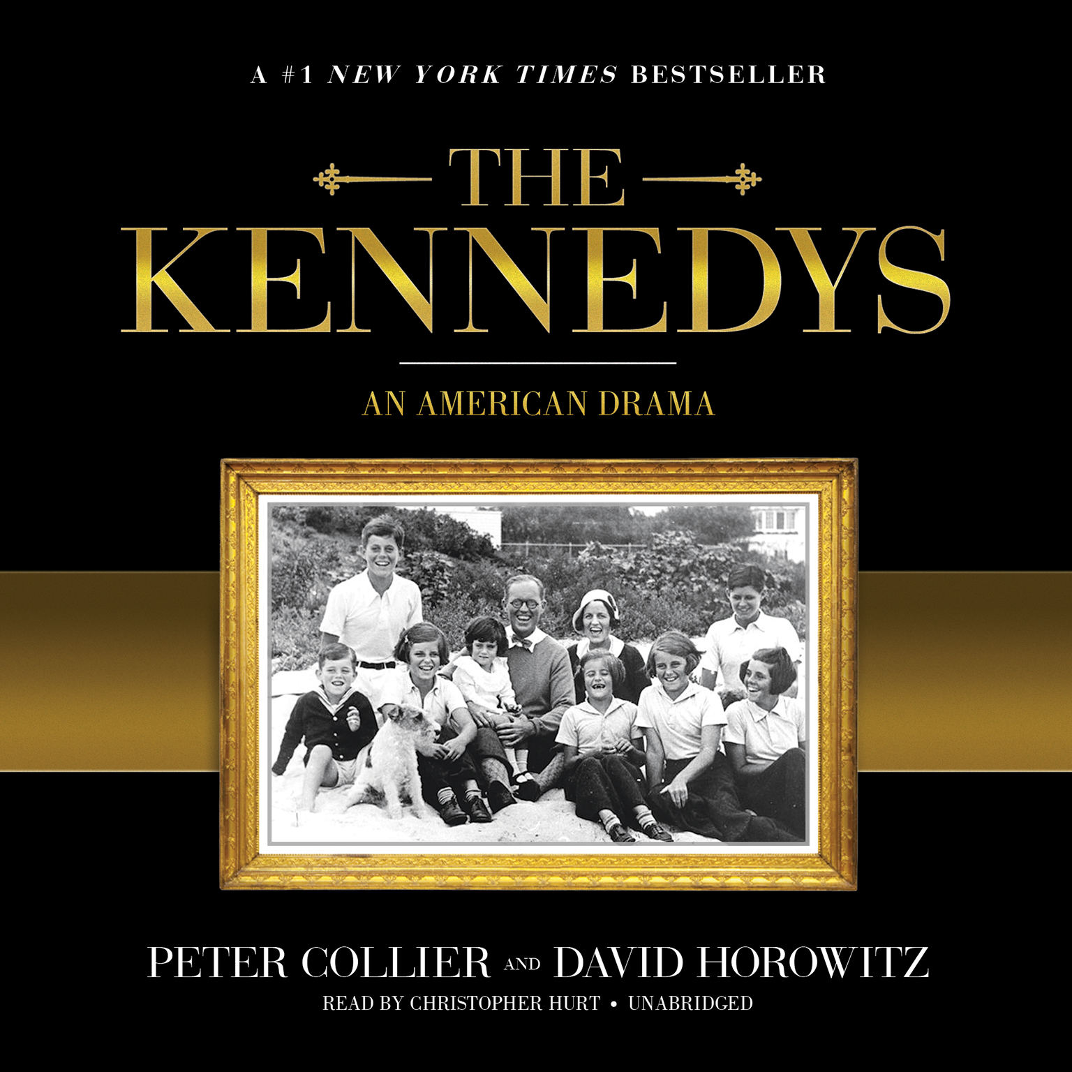 Printable The Kennedys: An American Drama Audiobook Cover Art