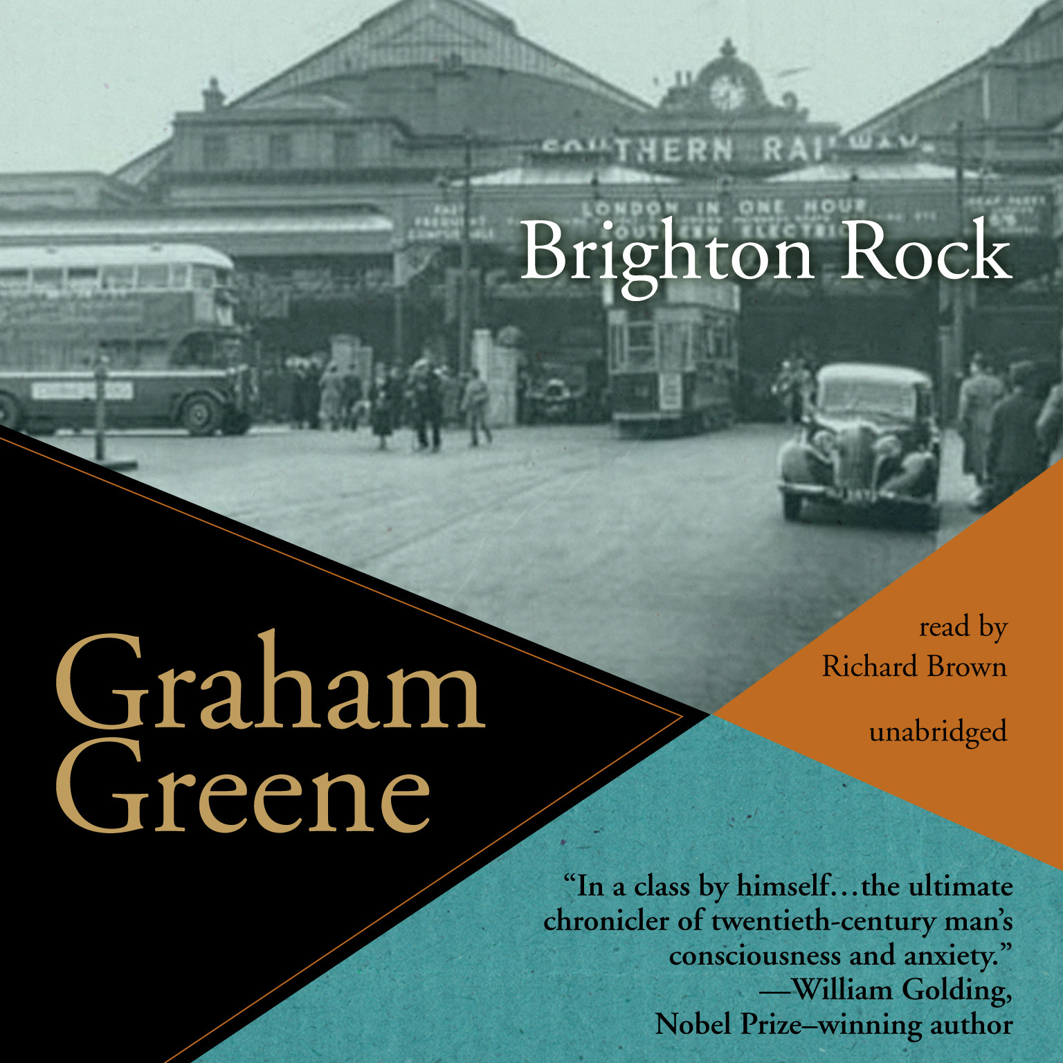 Printable Brighton Rock Audiobook Cover Art