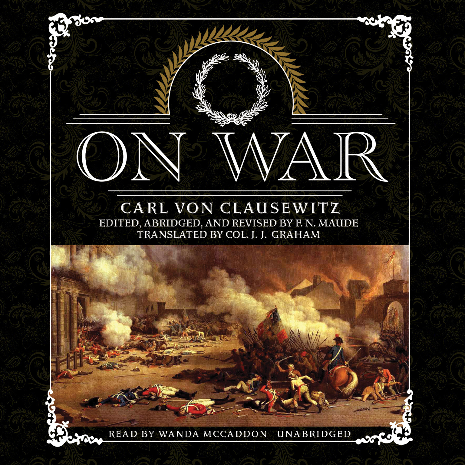 Printable On War Audiobook Cover Art