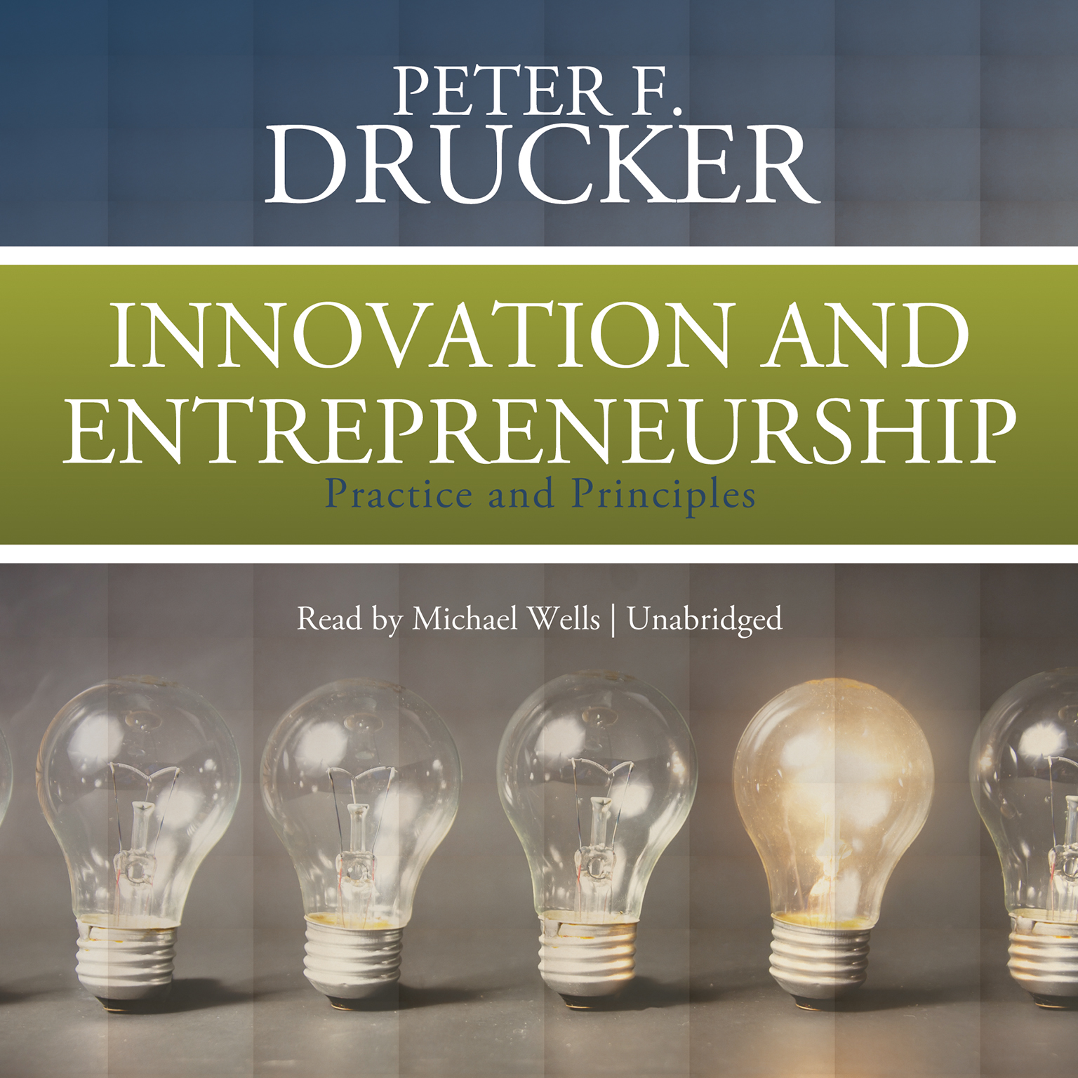 Printable Innovation and Entrepreneurship: Practice and Principles Audiobook Cover Art