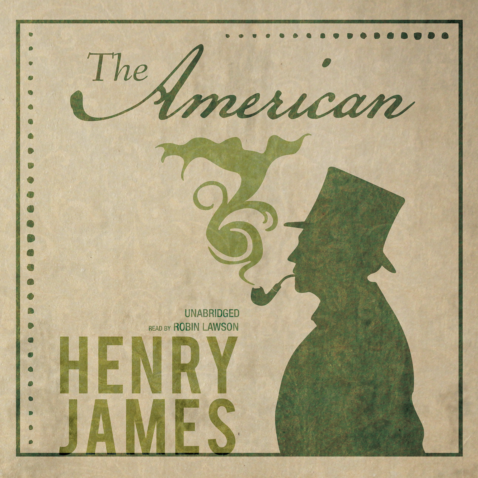 Printable The American Audiobook Cover Art