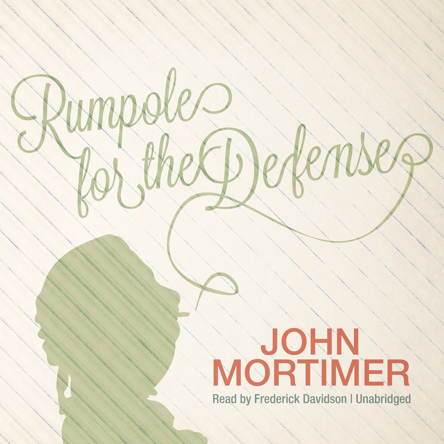 Printable Rumpole for the Defense Audiobook Cover Art