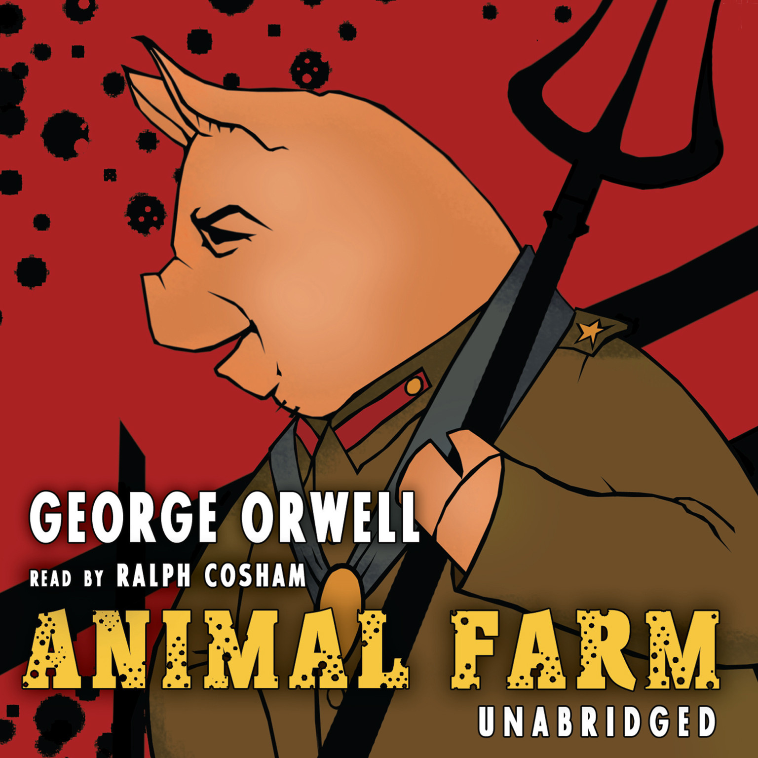 Printable Animal Farm Audiobook Cover Art