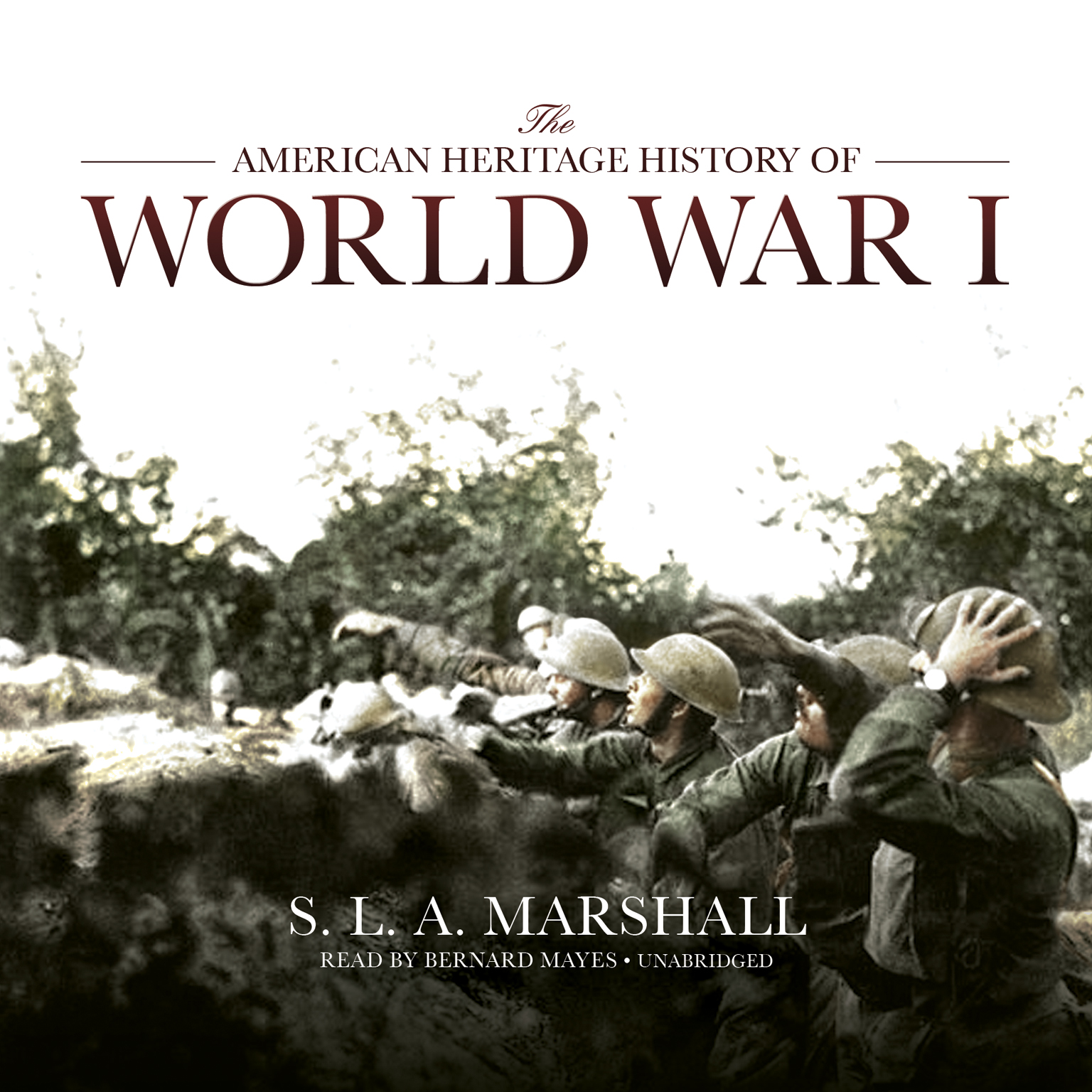 Printable The American Heritage History of World War I Audiobook Cover Art