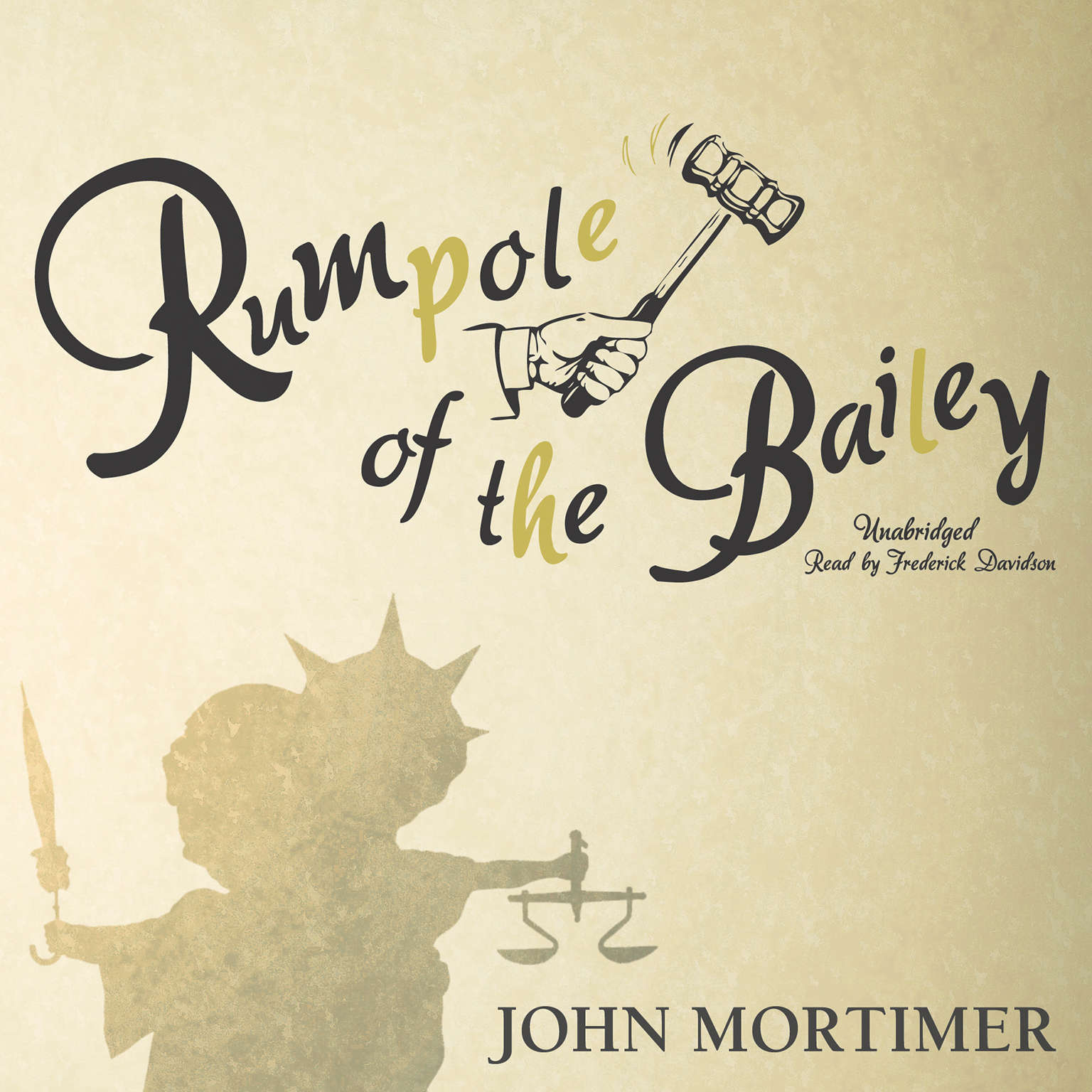 Printable Rumpole of the Bailey Audiobook Cover Art