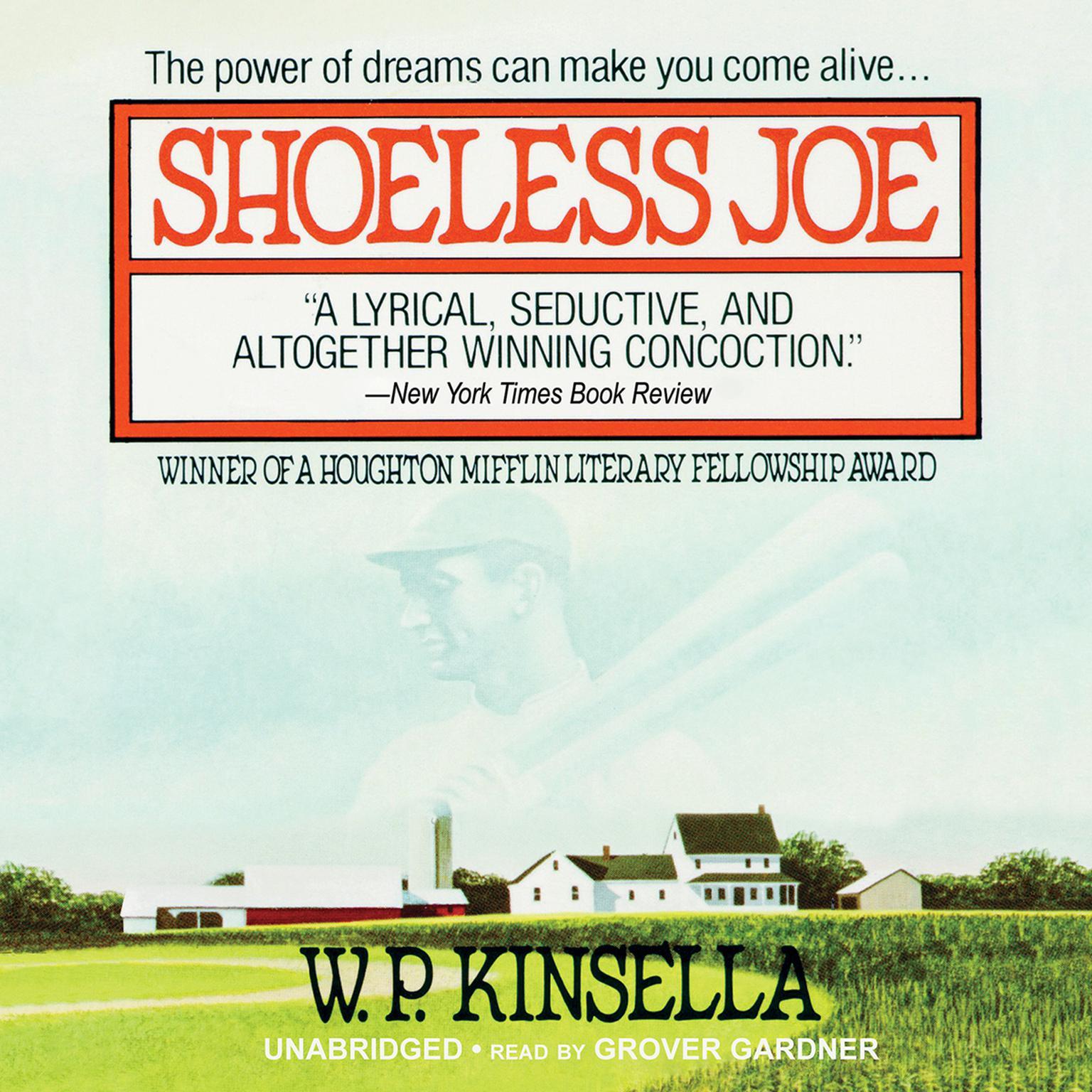 Printable Shoeless Joe Audiobook Cover Art