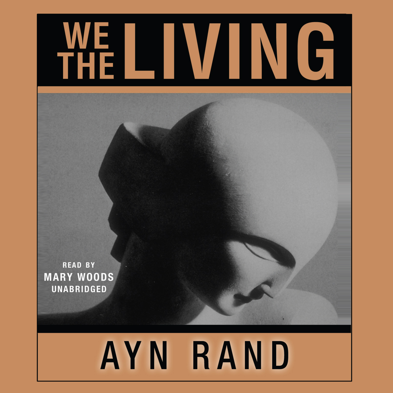 Printable We the Living Audiobook Cover Art