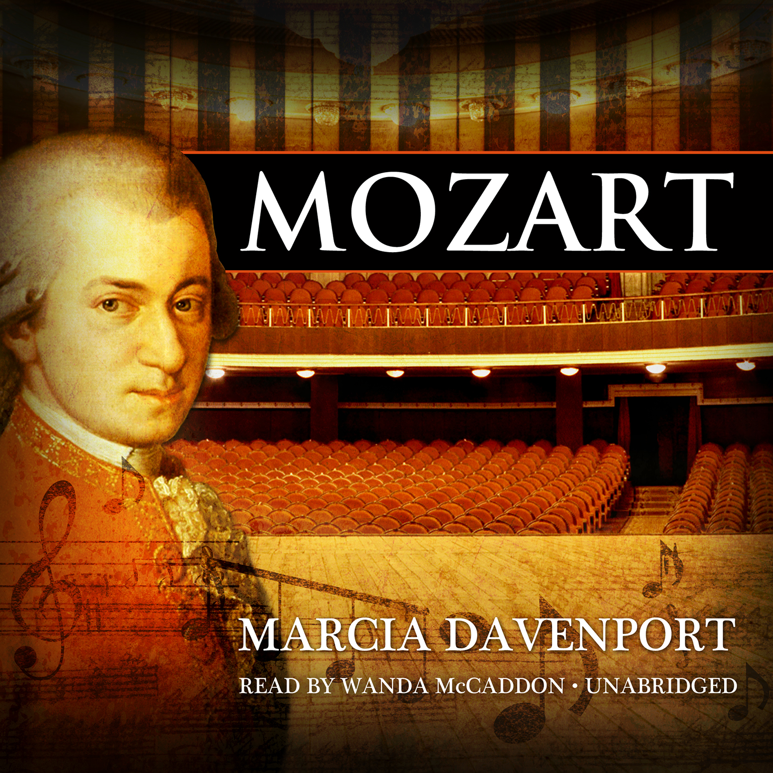 Printable Mozart Audiobook Cover Art