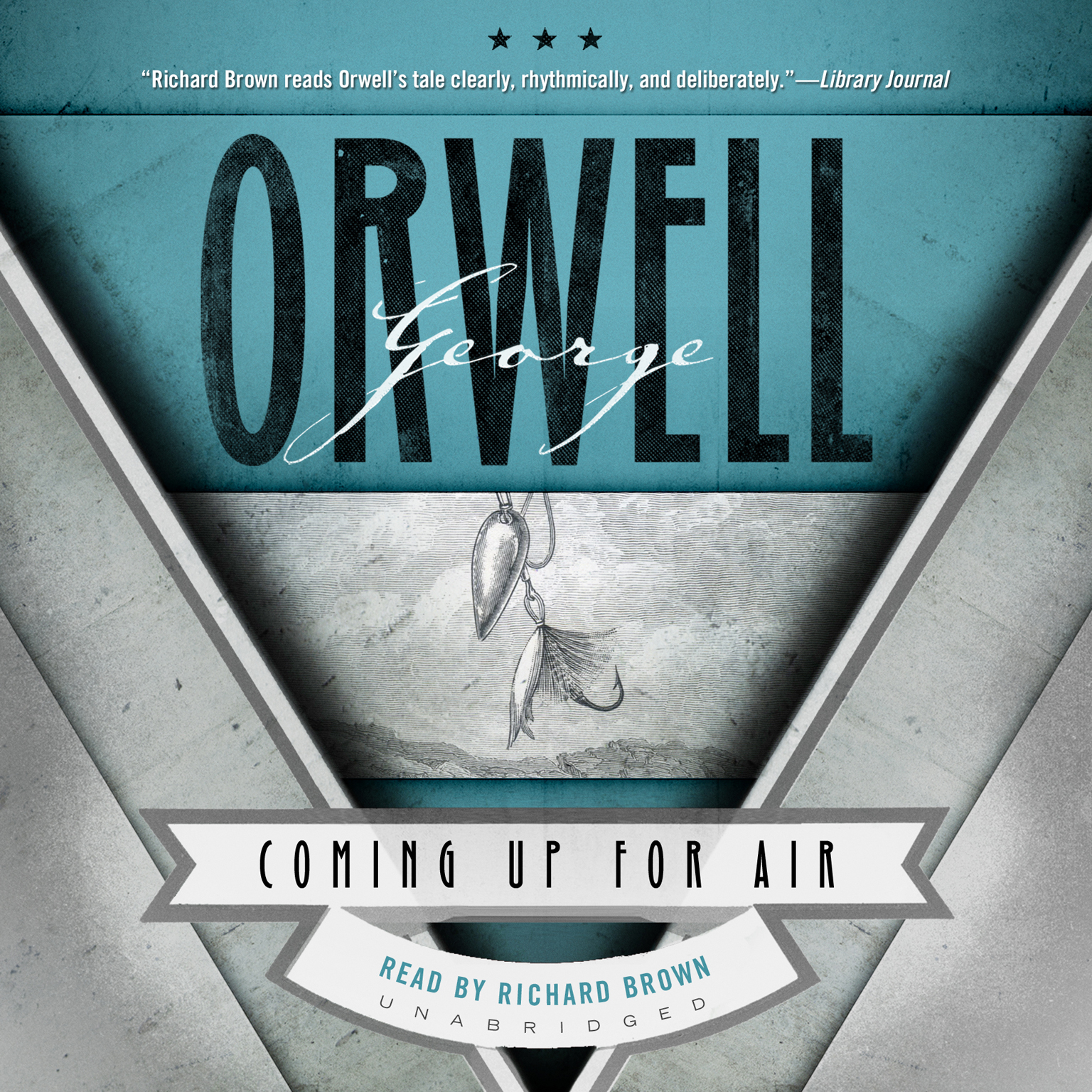 Printable Coming Up for Air Audiobook Cover Art