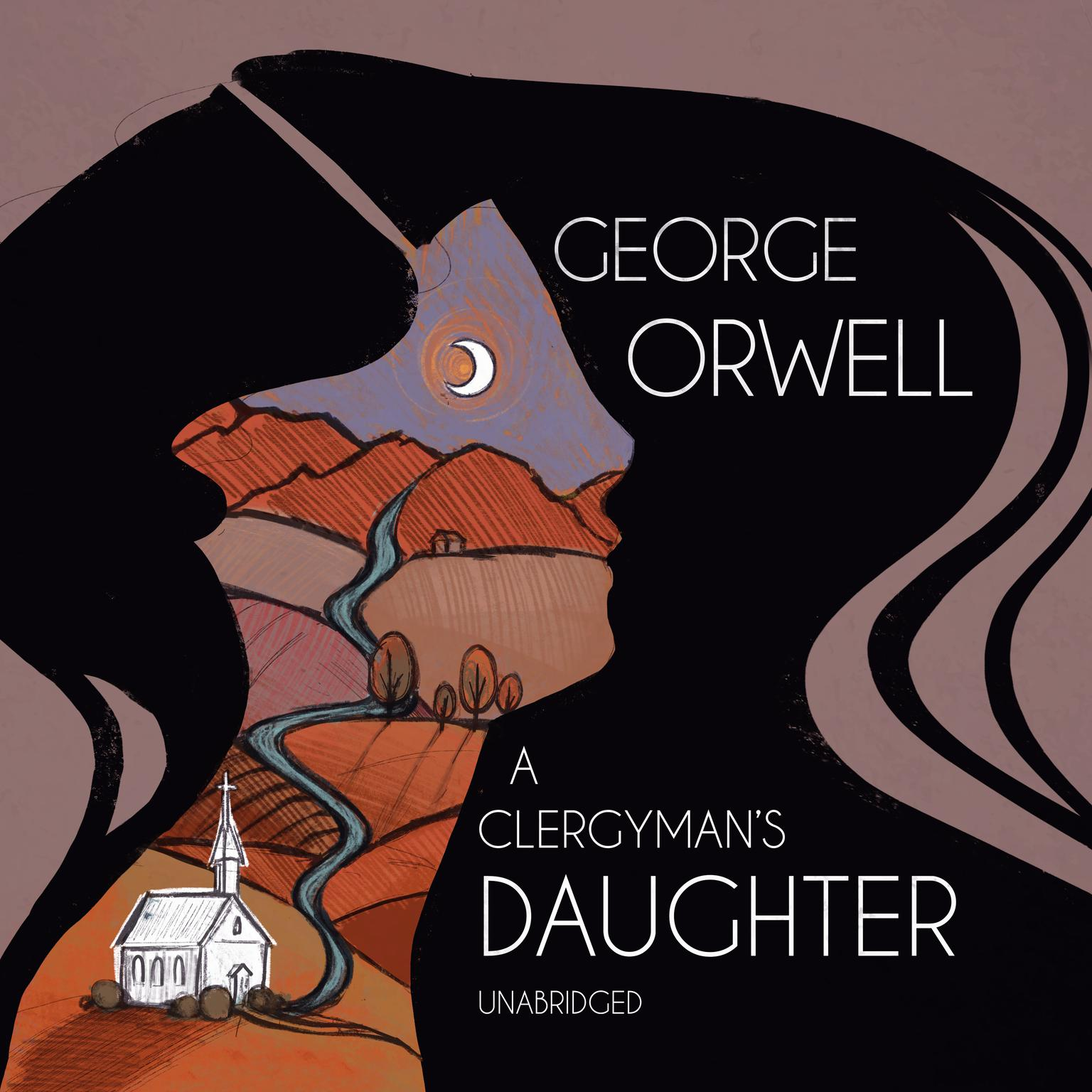 Printable A Clergyman's Daughter Audiobook Cover Art