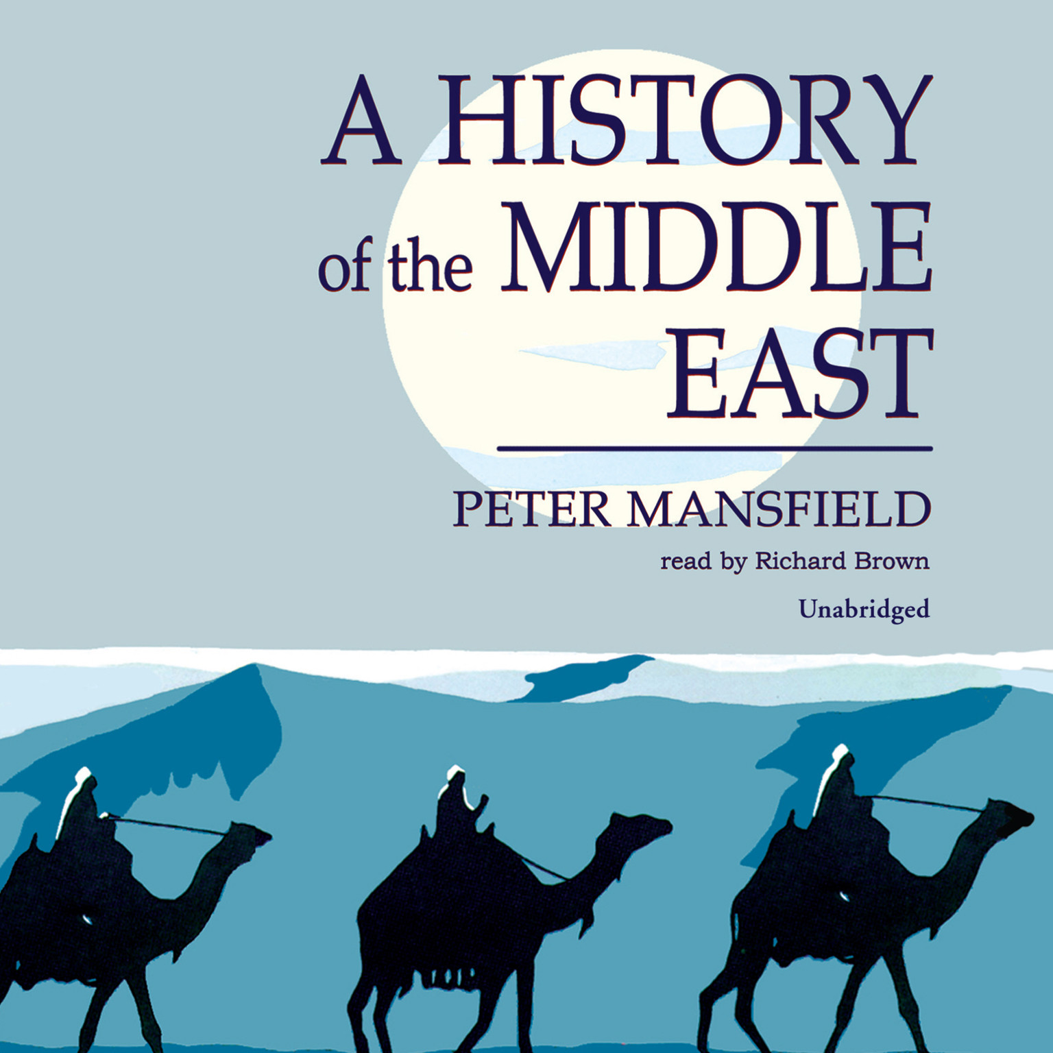 Printable A History of the Middle East Audiobook Cover Art
