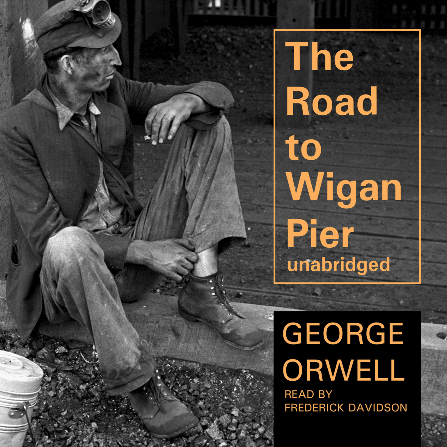 Printable The Road to Wigan Pier Audiobook Cover Art