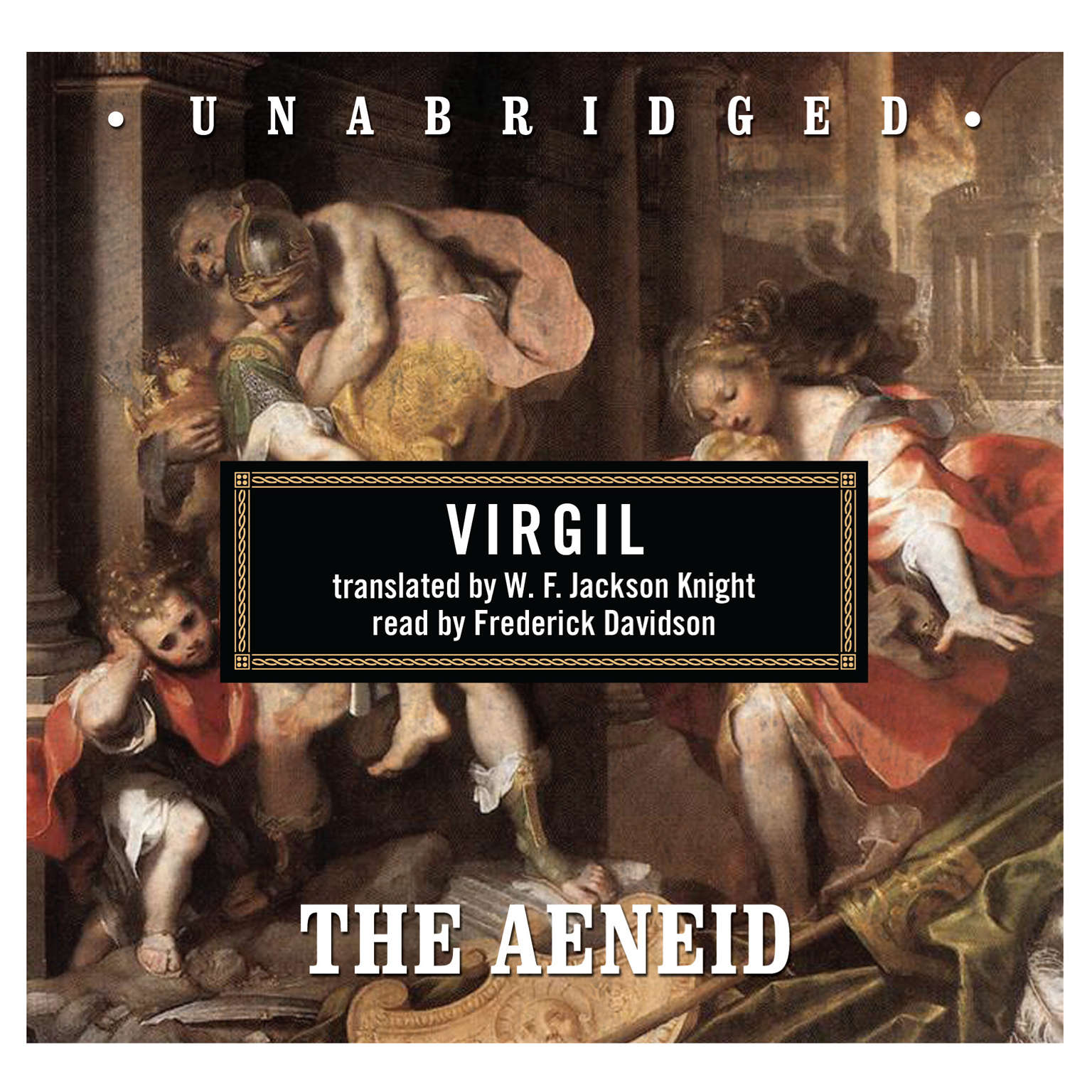 Printable The Aeneid Audiobook Cover Art