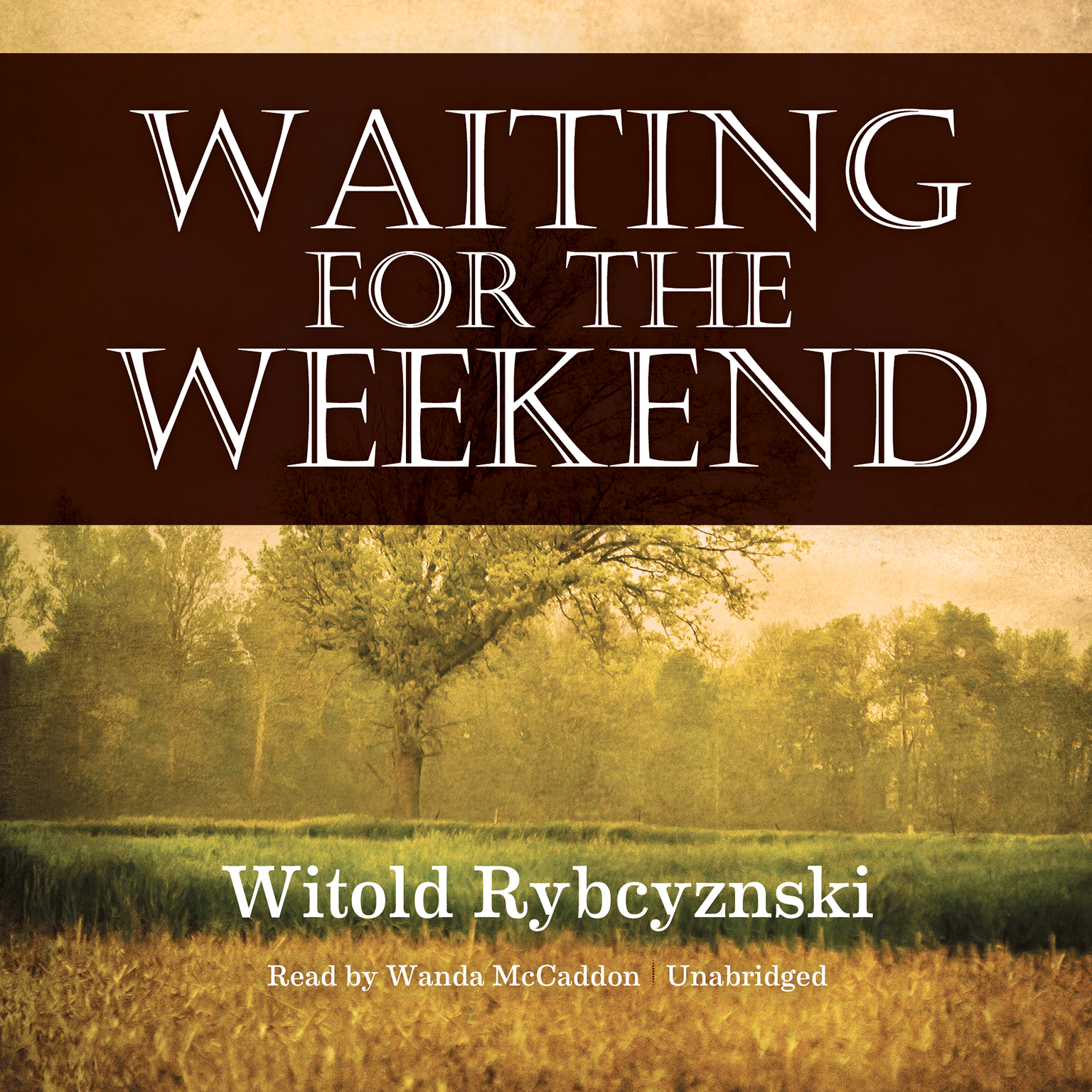 Printable Waiting for the Weekend Audiobook Cover Art