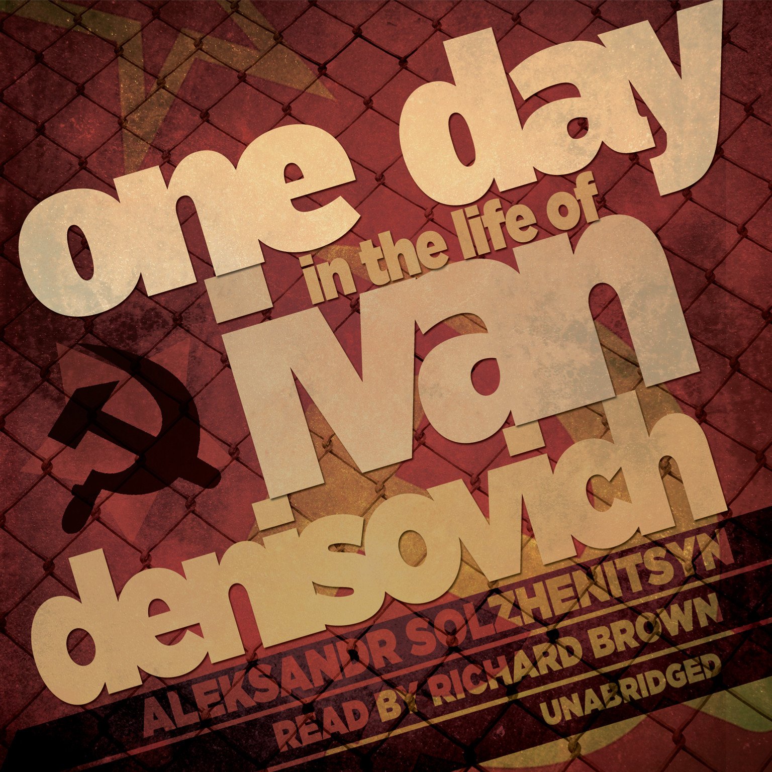 Printable One Day in the Life of Ivan Denisovich Audiobook Cover Art
