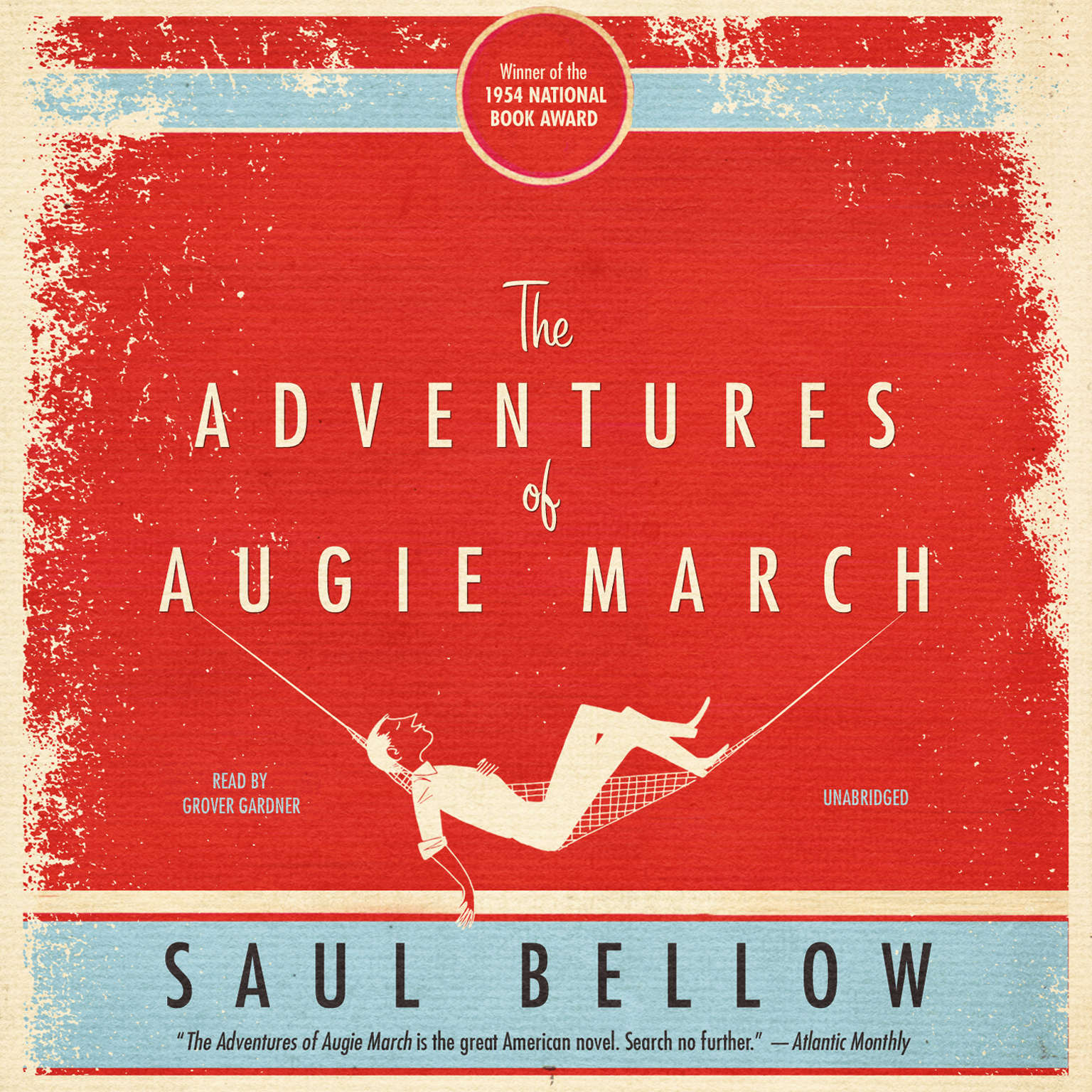 Printable The Adventures of Augie March Audiobook Cover Art