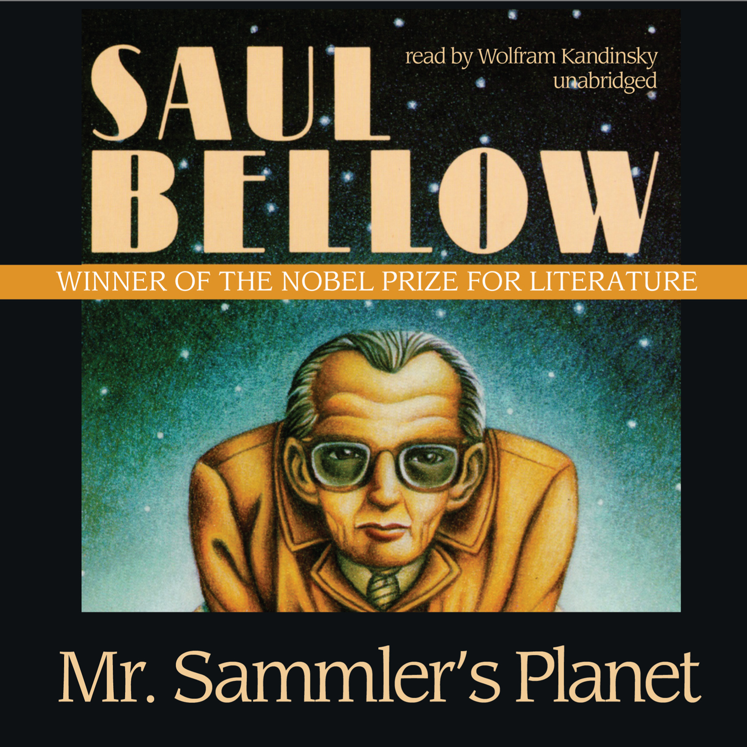 Printable Mr. Sammler's Planet Audiobook Cover Art