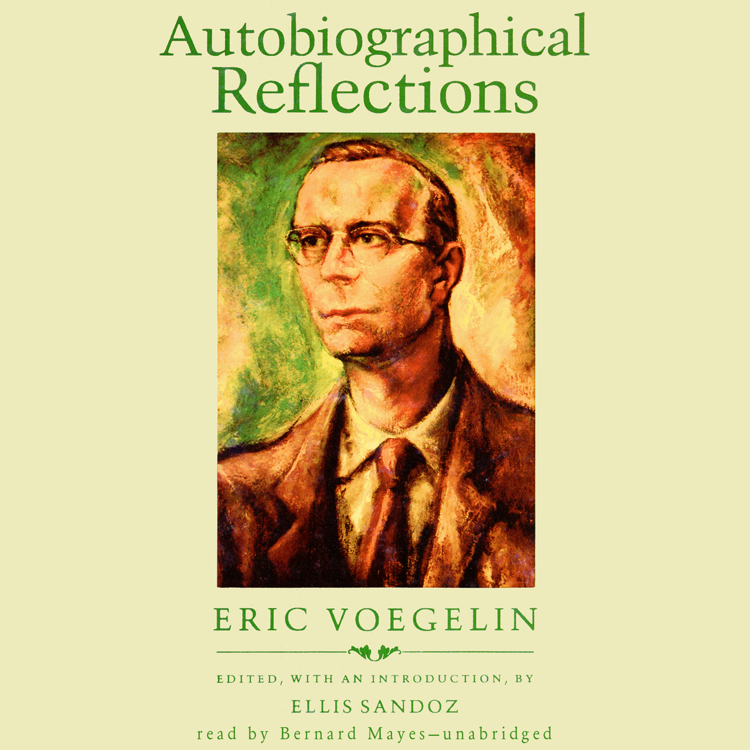 Printable Autobiographical Reflections Audiobook Cover Art