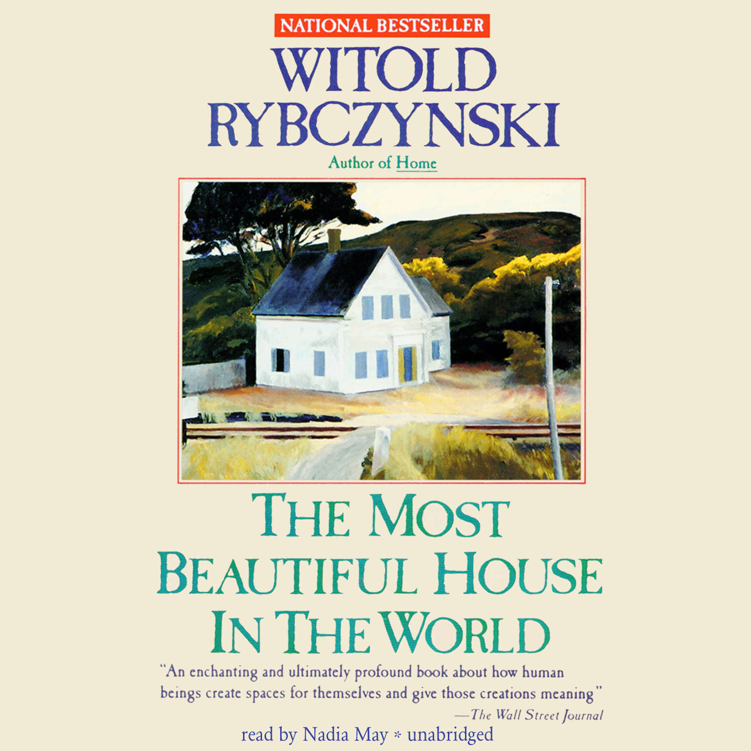 Printable The Most Beautiful House in the World Audiobook Cover Art
