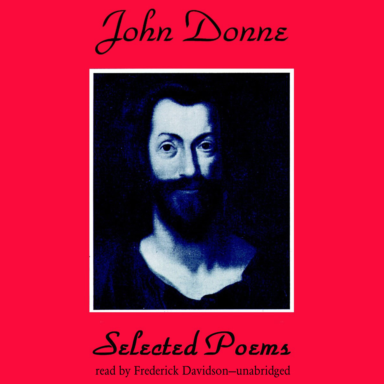 Printable John Donne: Selected Poems Audiobook Cover Art