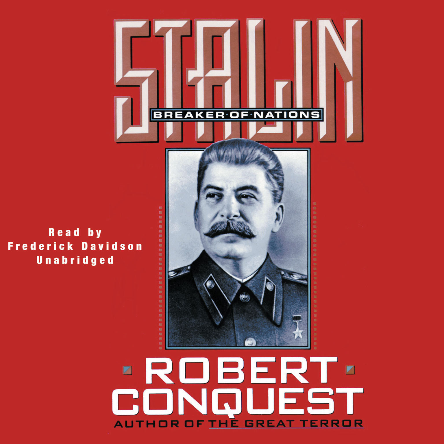 Printable Stalin: Breaker of Nations Audiobook Cover Art