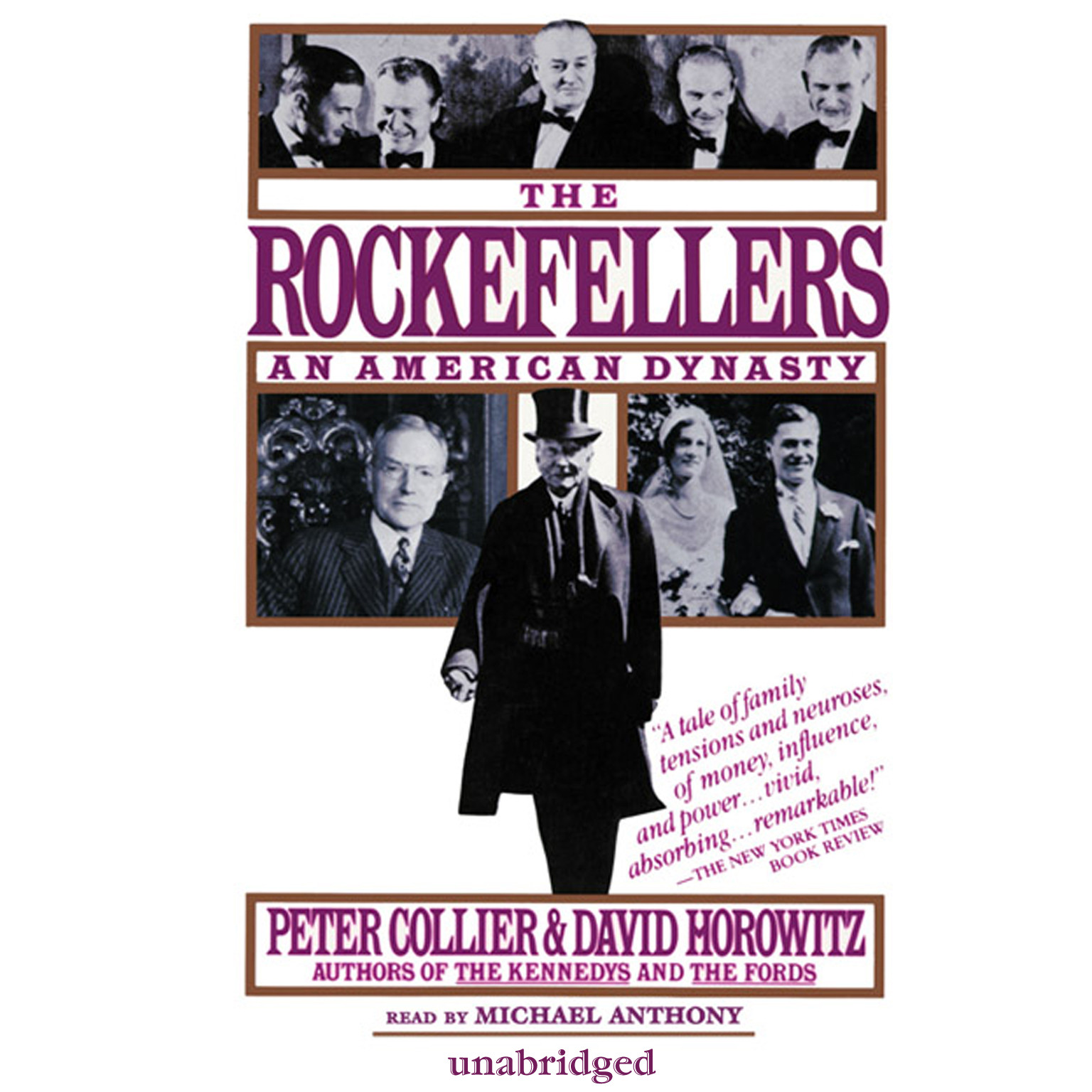 Printable The Rockefellers: An American Dynasty Audiobook Cover Art