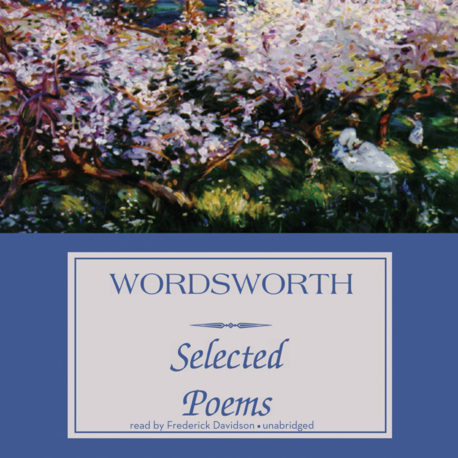 Printable Wordsworth: Selected Poems Audiobook Cover Art