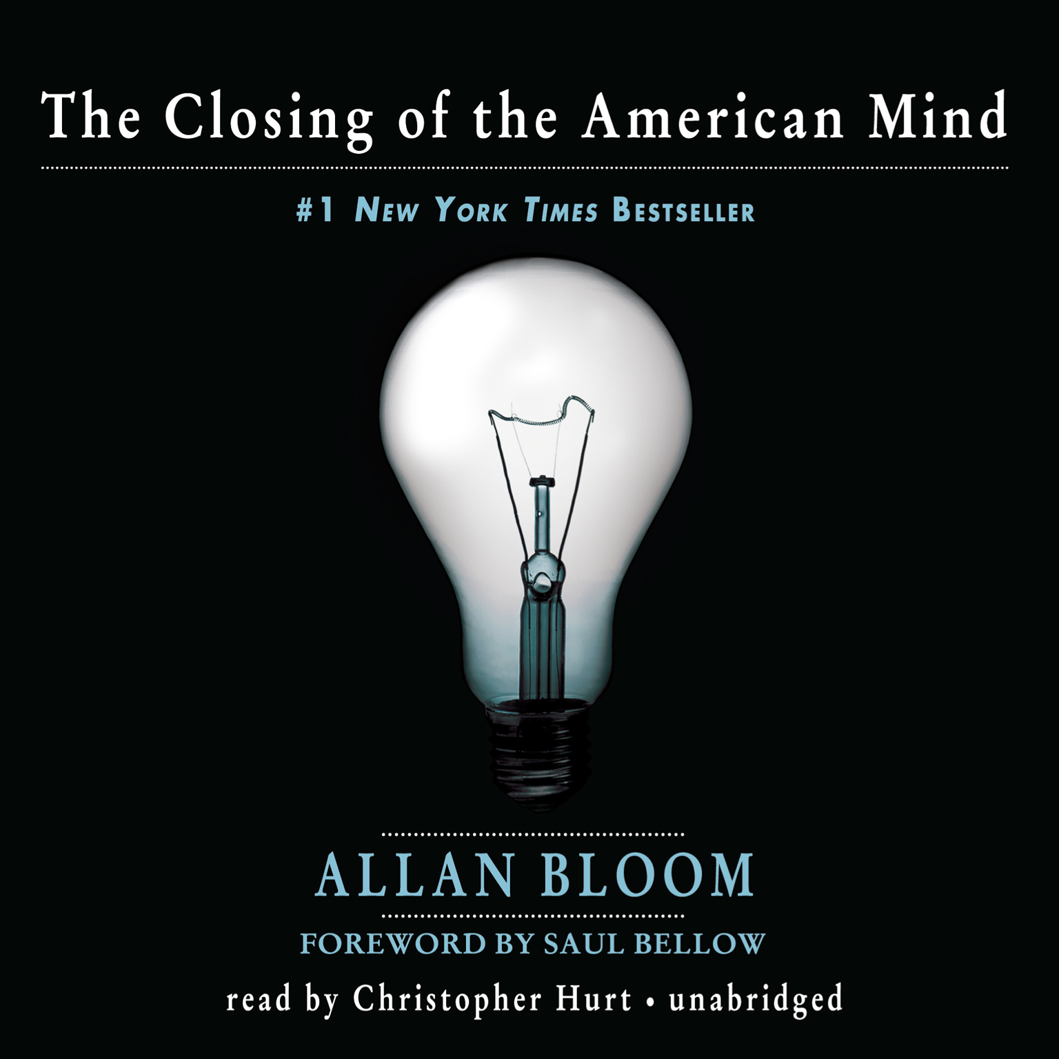 Printable The Closing of the American Mind Audiobook Cover Art