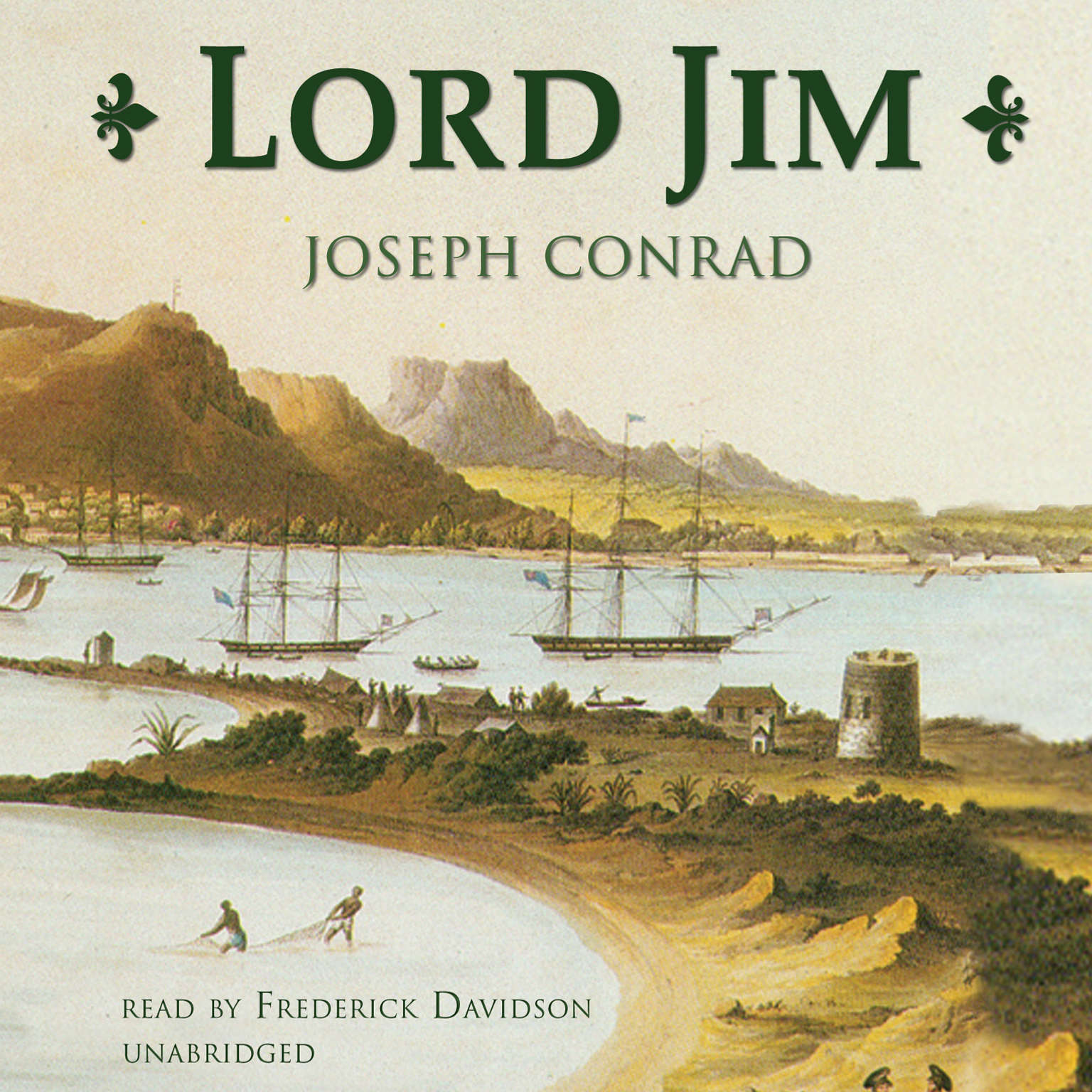 Printable Lord Jim Audiobook Cover Art