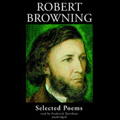 Robert Browning: Selected Poems Audiobook, by Robert Browning