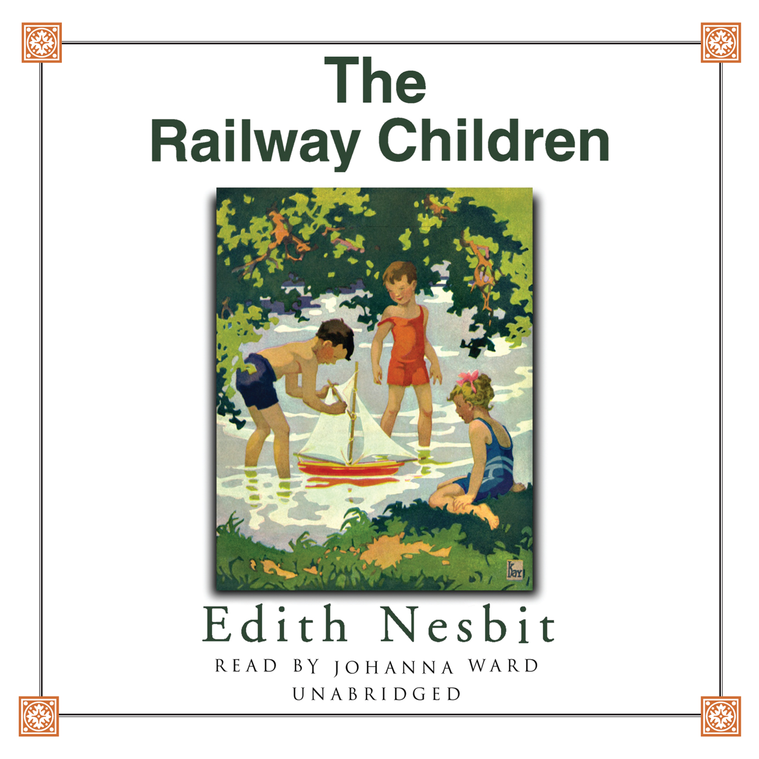 Printable The Railway Children Audiobook Cover Art