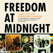 Freedom at Midnight Audiobook, by Larry Collins, Dominique Lapierre
