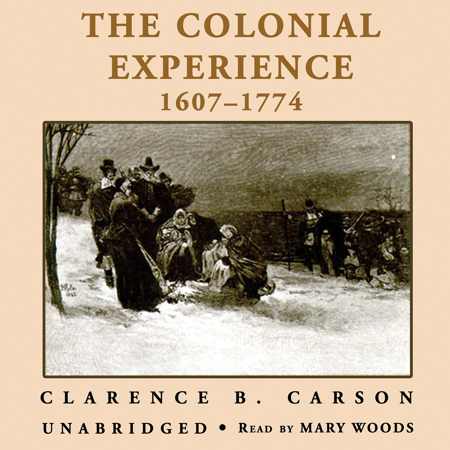 Printable A Basic History of the United States, Vol. 1: The Colonial Experience, 1607–1774 Audiobook Cover Art