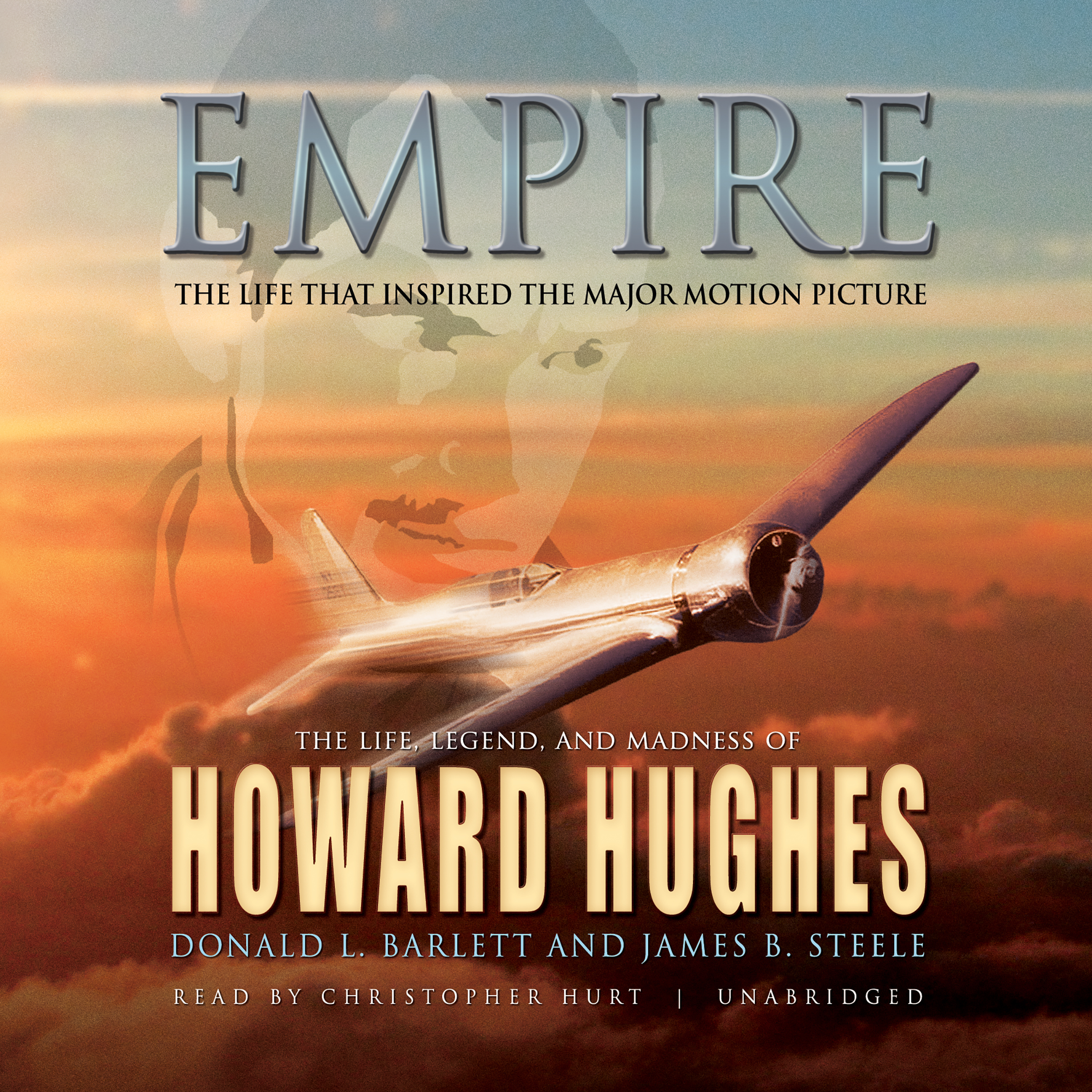 Printable Empire: The Life, Legend, and Madness of Howard Hughes Audiobook Cover Art