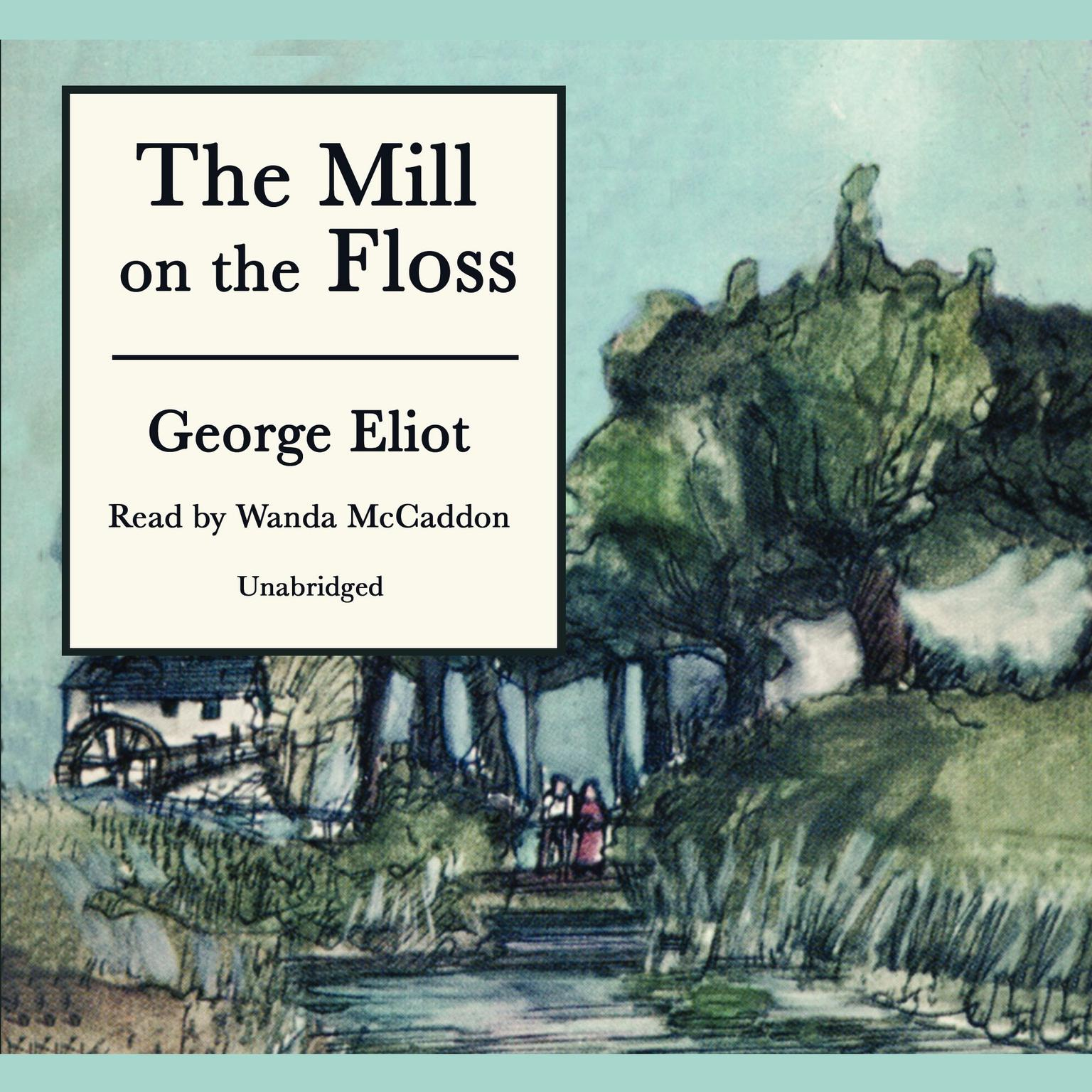 Printable The Mill on the Floss Audiobook Cover Art