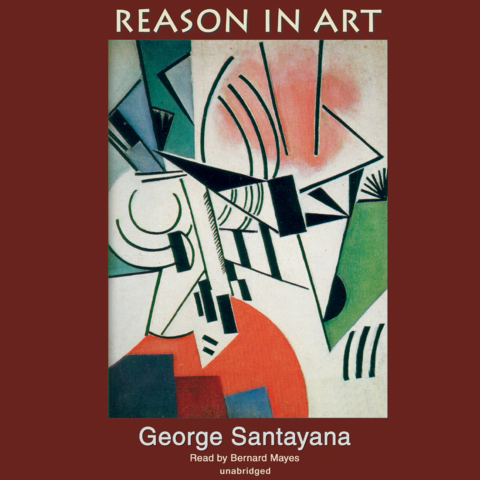 Printable Reason in Art: The Life of Reason Audiobook Cover Art