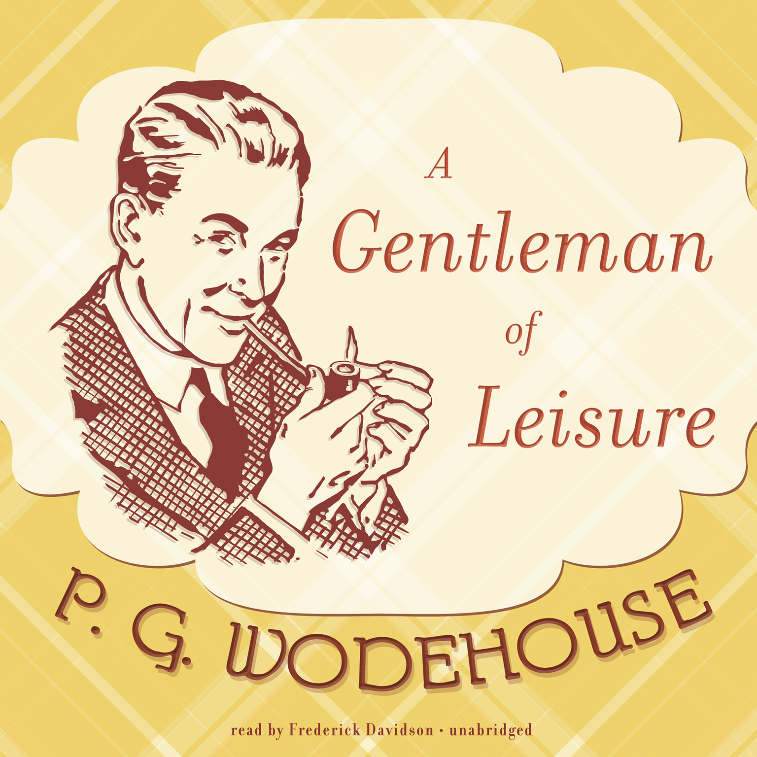 Printable A Gentleman of Leisure Audiobook Cover Art