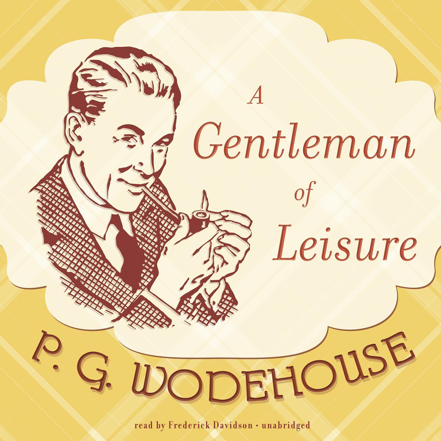 Printable A Gentleman of Leisure Audiobook Cover Art
