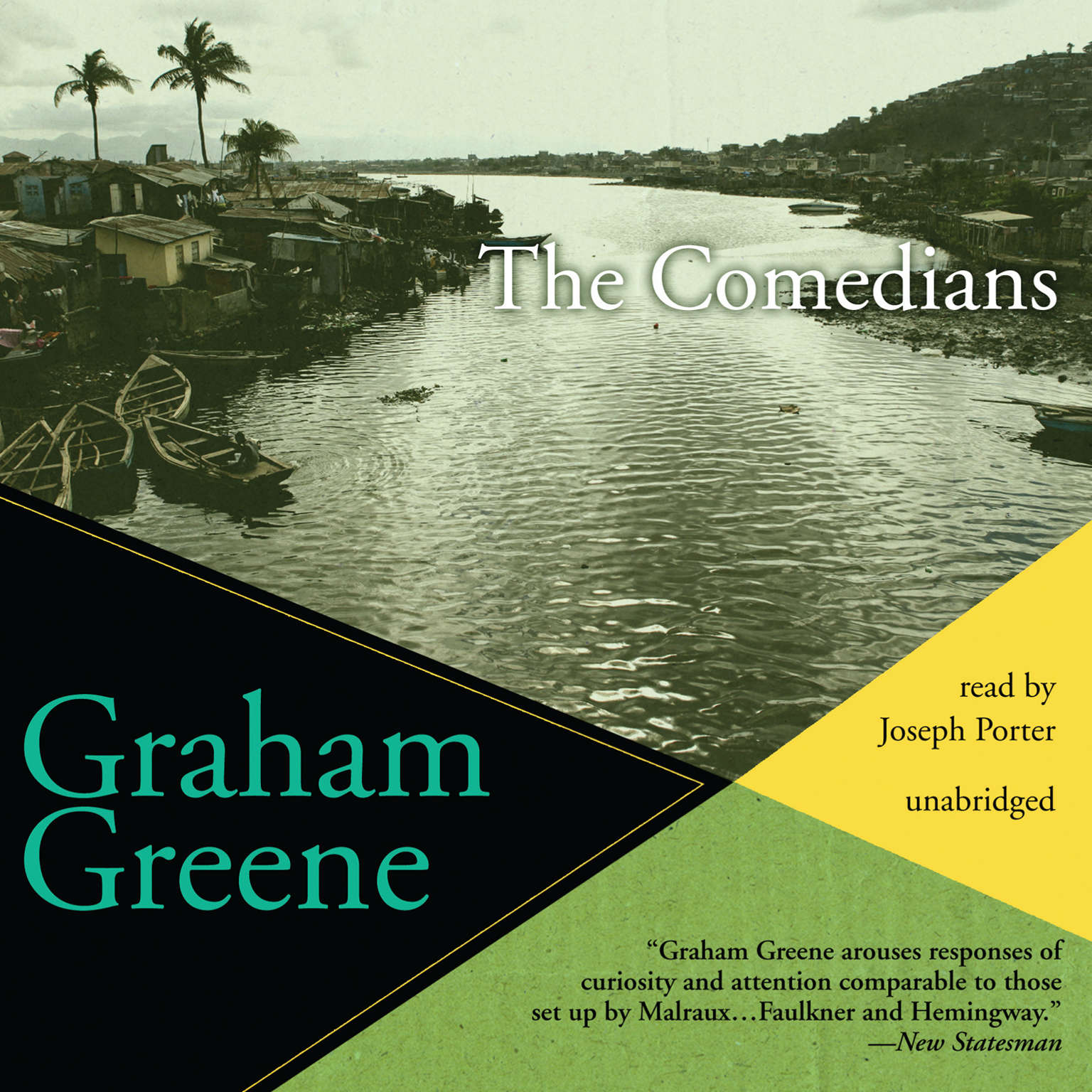 Printable The Comedians Audiobook Cover Art
