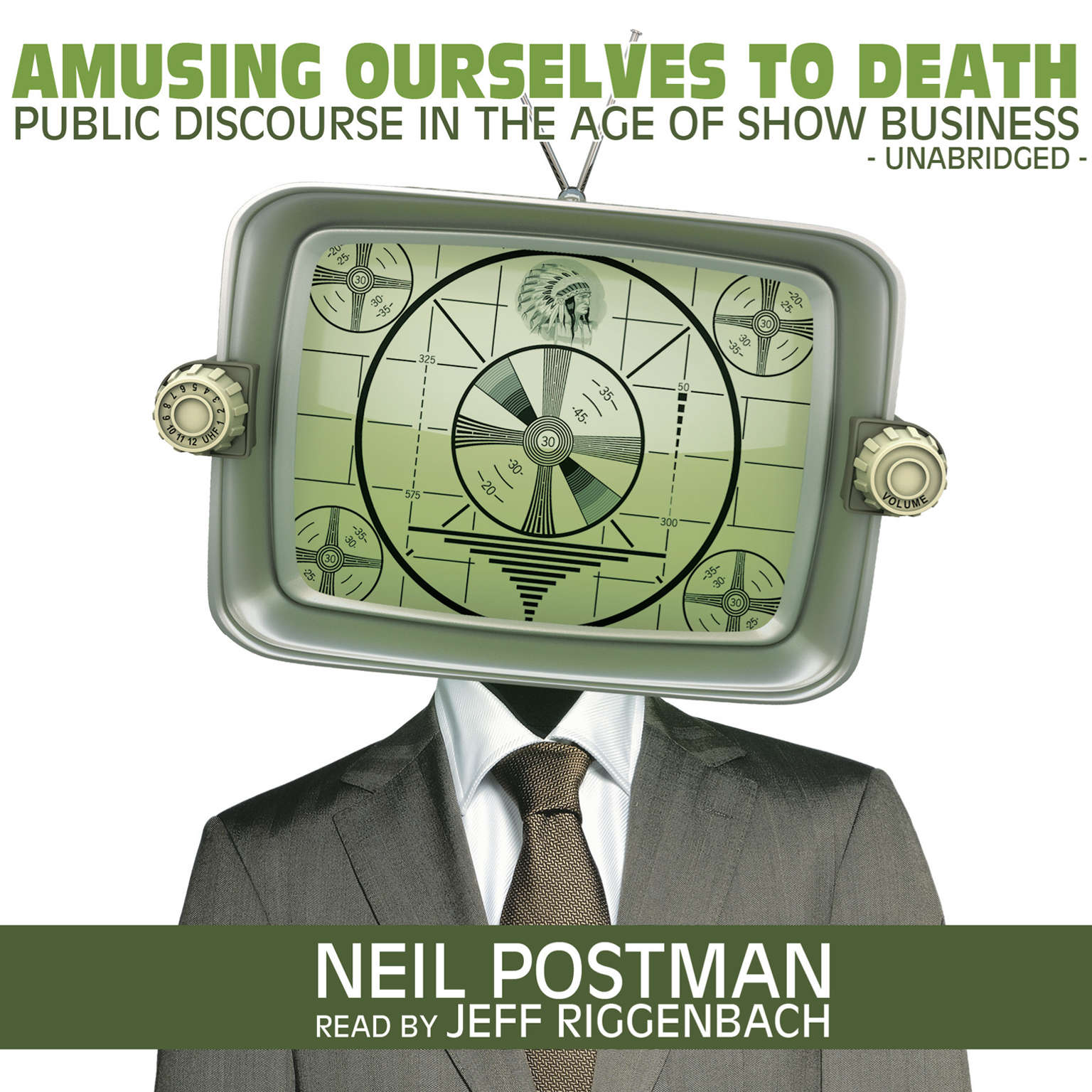 Printable Amusing Ourselves to Death: Public Discourse in the Age of Show Business Audiobook Cover Art