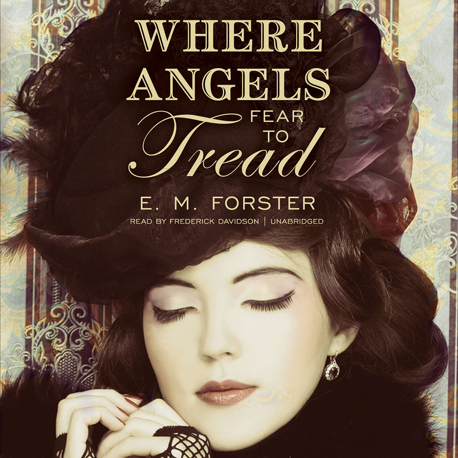 Printable Where Angels Fear to Tread Audiobook Cover Art