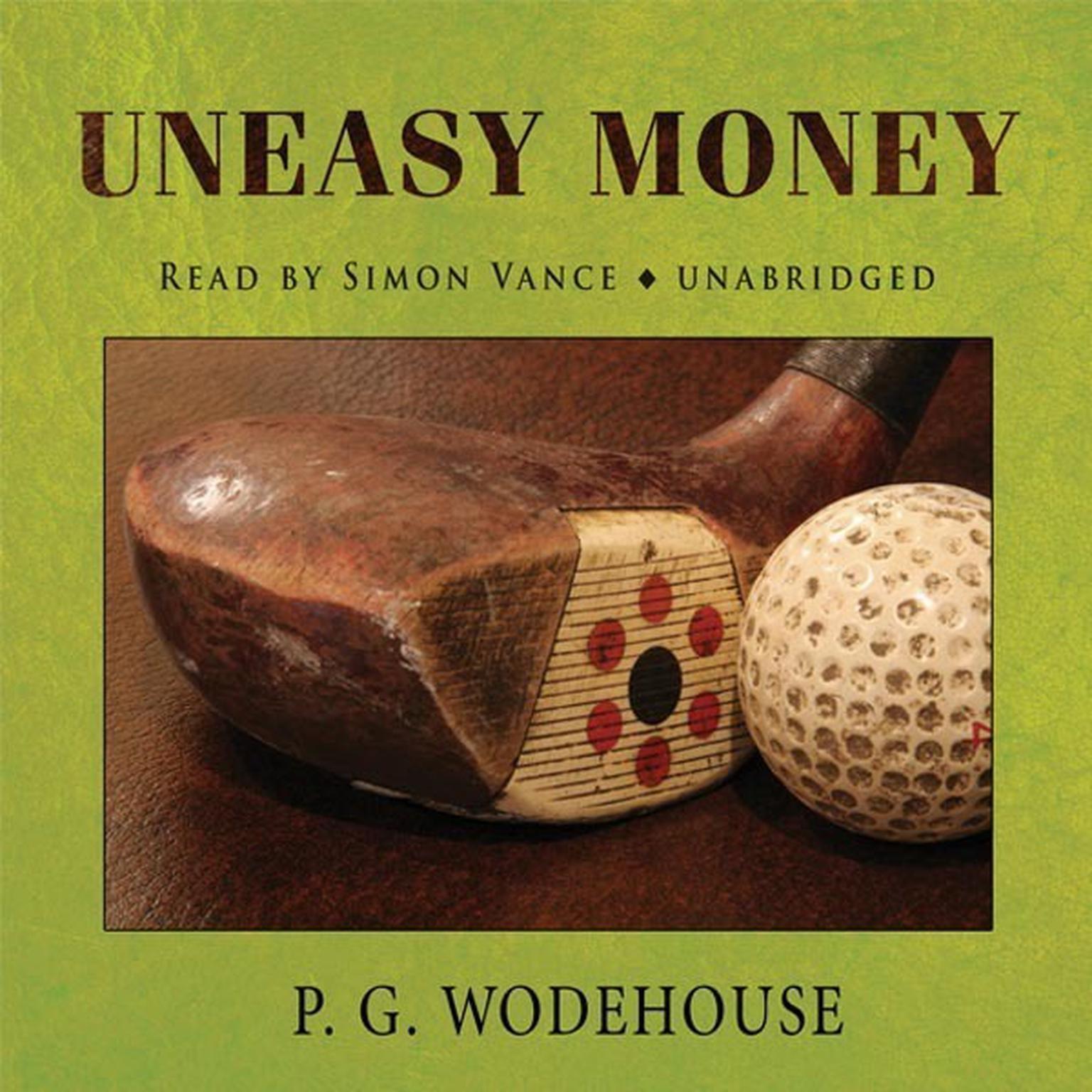 Printable Uneasy Money Audiobook Cover Art