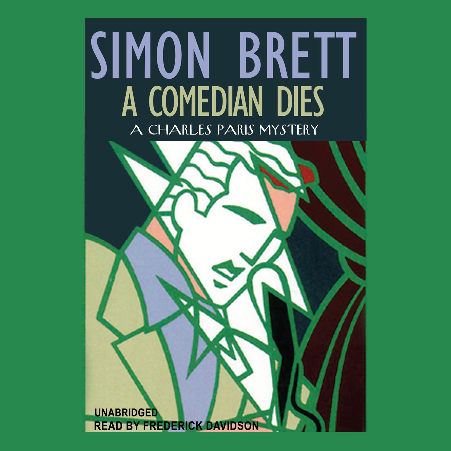 Printable A Comedian Dies Audiobook Cover Art