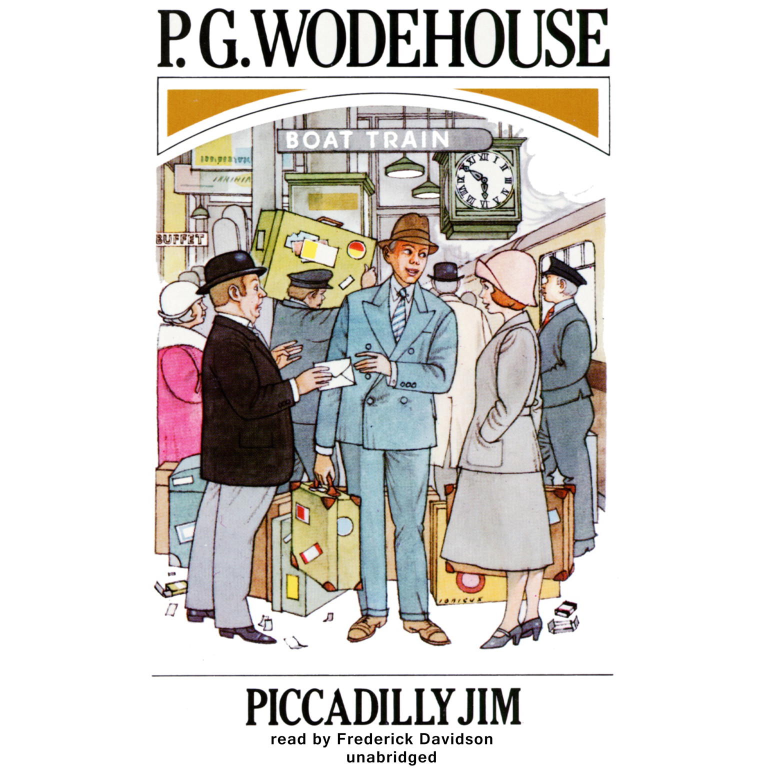 Printable Piccadilly Jim Audiobook Cover Art